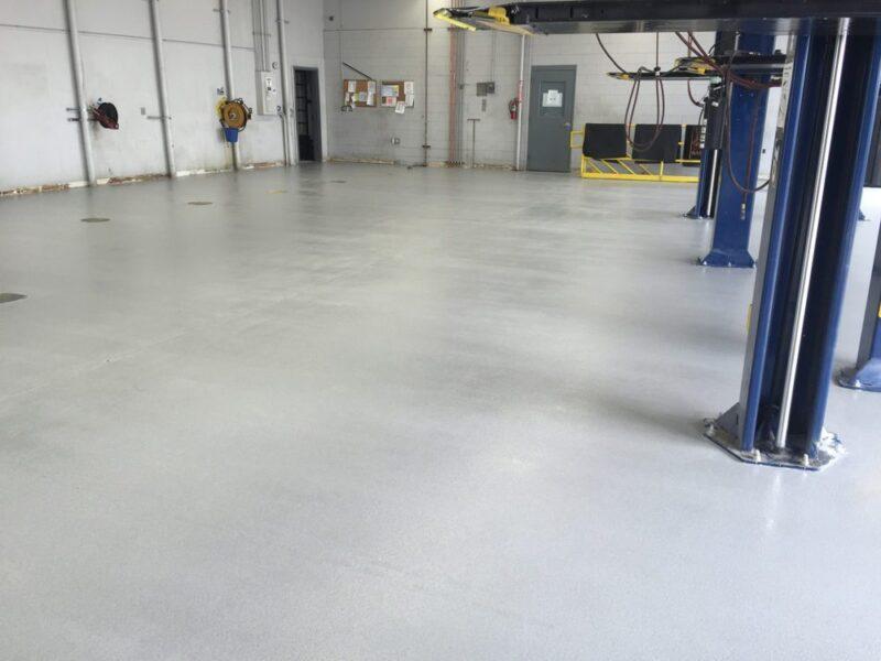 Floor Coating | All Finish Concrete