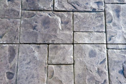 Stamped Concrete - Ashlar Slate Pattern | All Finish Concrete