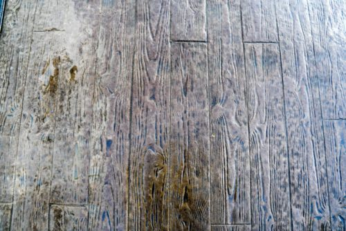 Stamped Concrete - Wood Plank Texture | All Finish Concrete