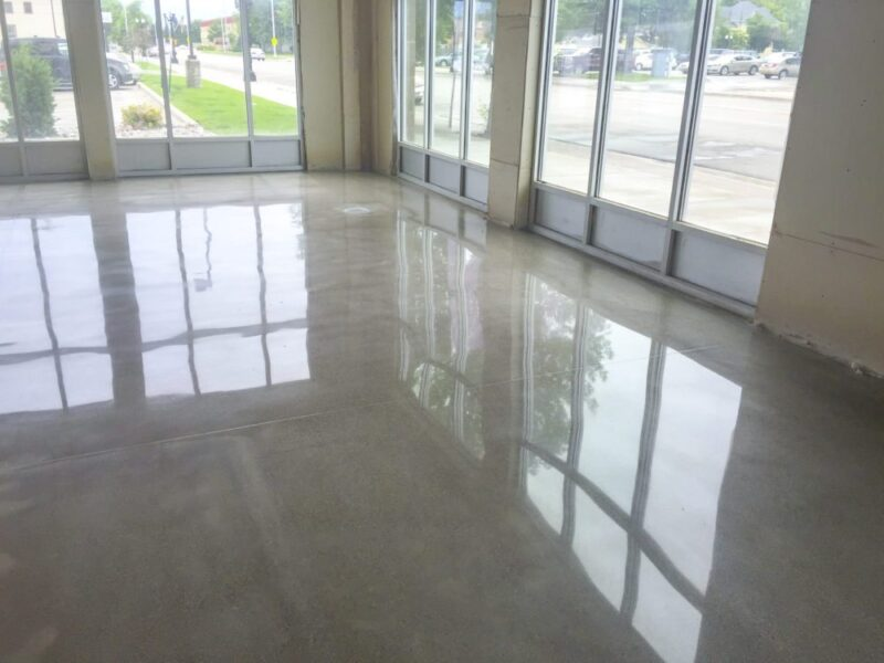 Grinding & Polishing | All Finish Concrete