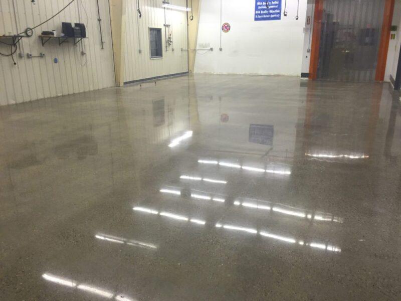 Grinding & Polishing   All Finish Concrete
