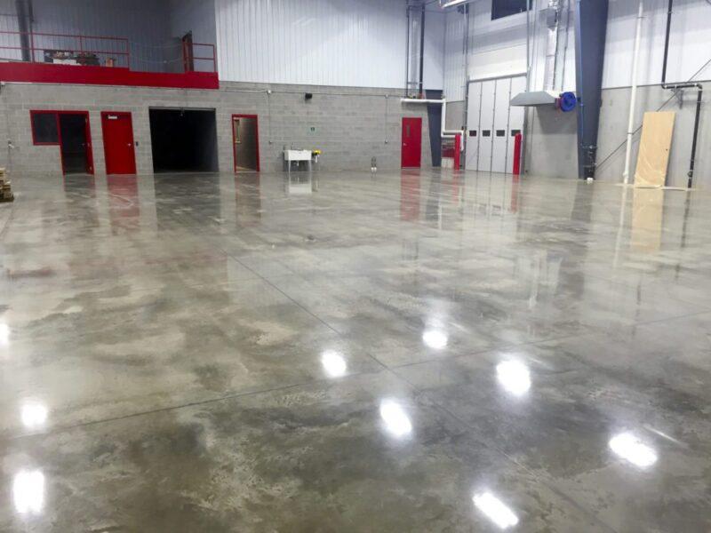 Grinding & Polishing | All Finish Concrete